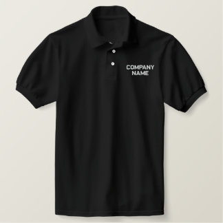 Add Your Company Business Name Embroidered Shirt