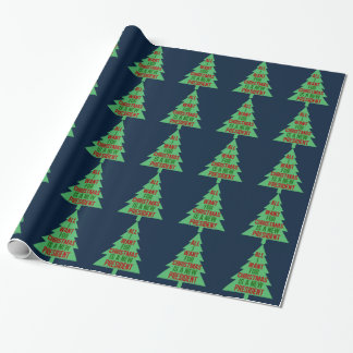 All I Want for Christmas is a New President Funny Wrapping Paper
