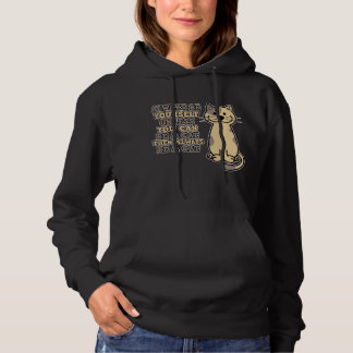Always Be Yourself unless you can be a Cat Doodle Hoodie