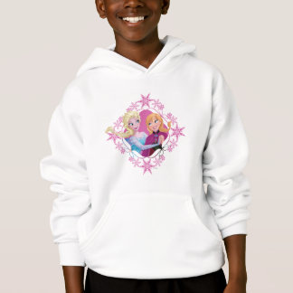 Anna and Elsa | Family Forever Hoodie