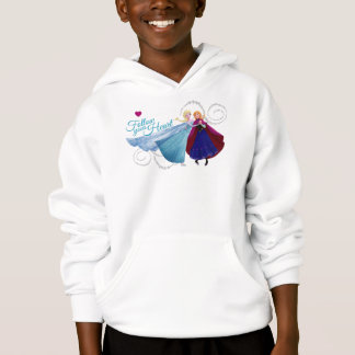 Anna and Elsa | Family Love Hoodie