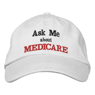 Ask Me About Medicare Hat