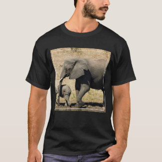 Baby Elephant And Mother T-Shirt