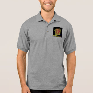 Badge the Norwegian Police Service, Norway Polo Shirt