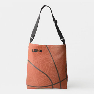 Basketball Texture Personalized Crossbody Bag