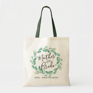 Bayou Botanicals Greenery   Mother of the Bride Tote Bag