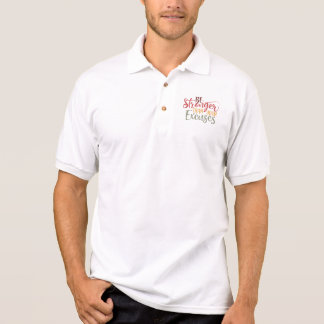 Be Stronger Than Your Excuses Gym Design Polo Shirt