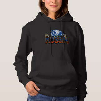 Bear Russia Power Moscow Hoodie