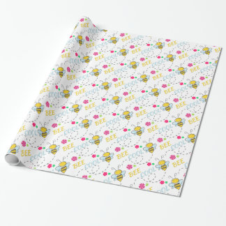 Bee Cool customized Christmas Wrapping Paper