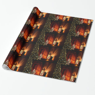 Bengal Kitty Christmas Wrapping Paper