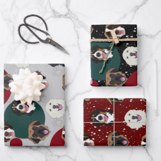 Bernese/Great Pyrenees/ Leonberger/St Bernard  Wrapping Paper Sheets