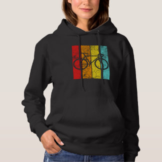 Bicycle Cycling Retro Hoodie