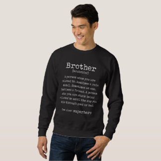Black brother Funny Jumper Gift for Him Christmas Sweatshirt