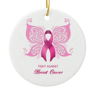Breast Cancer Ornaments