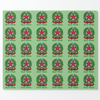 Buon Natale Italy Christmas Wrapping Paper