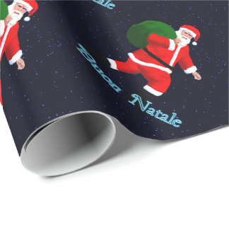 Buon Natale - Santa Claus Wrapping Paper