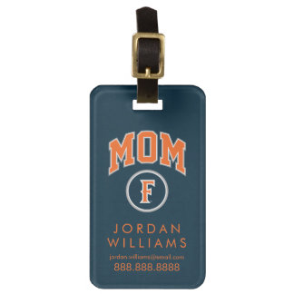 Cal State Fullerton Mom Luggage Tag
