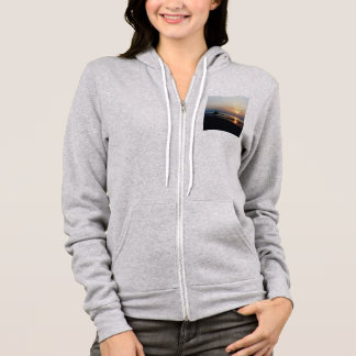 Camel on the beach at Sunset Hoodie