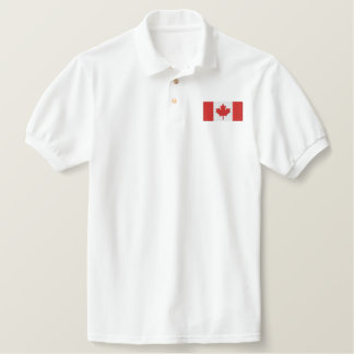 CANADA 2 EMBROIDERED POLO SHIRT