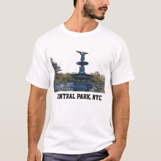 Central Park NYC Bethesda Fountain Angel T-Shirt