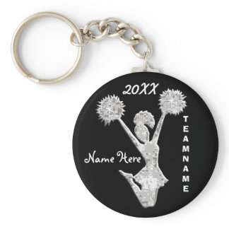 Cheer Keychains PERSONALIZED Your Text and Colors