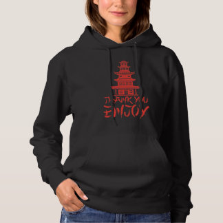 Chinese Take Out Asian Food Japanese Noodle Lover Hoodie