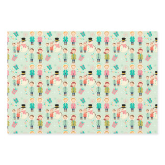Christmas Kids Wrapping Paper
