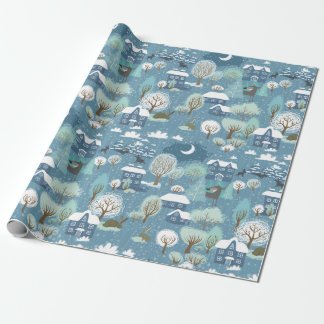 Christmas Landscape Wrapping Paper