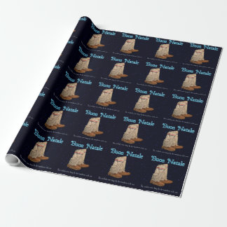 Christmas Mukluks Wrapping Paper