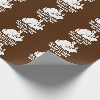 Christmas THE BEST THINGS IN LIFE ARE FREE humor Wrapping Paper
