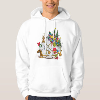 Classic The Grinch   The Grinch & Max Runaway Slei Hoodie