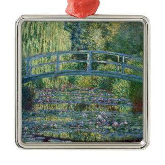 Claude Monet - Water Lily pond, Green Harmony Metal Ornament