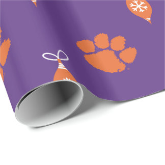 Clemson Tigers Wrapping Paper