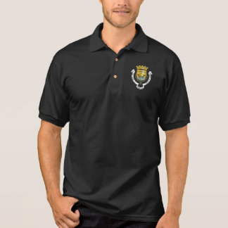 Coat of Arms of Lisbon, Portugal Polo Shirt
