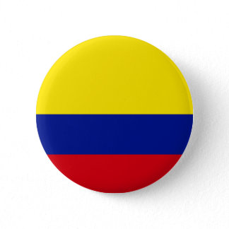 Colombia Flag Pinback Button