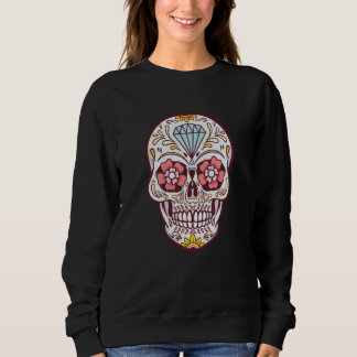 Colorful School Day Of The Death Sweatshirt