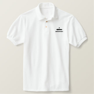 Come and Take It Embroidered Polo Shirt
