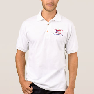 Coolest Puerto Rican Dadl Polo Shirt