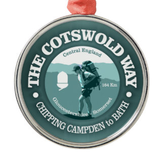 Cotswold Way (T) Metal Ornament