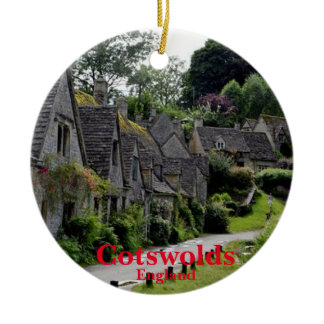 Cotswolds'  Christmas Panoramic Ornament