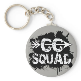 Cross Country Runner Squad Keychain