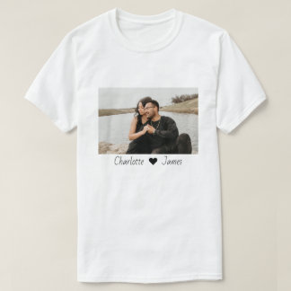 Custom Made Photo And Text Personalized T-Shirt