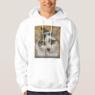 Custom Photo and Name Personalized Hoodie