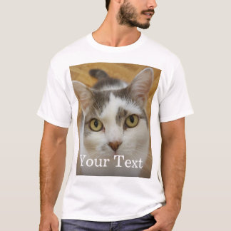 Custom Photo And Text Personalized T-Shirt