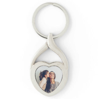 Cute Mom & Daughter Keychain
