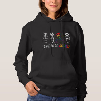 Dare To Be Yourself Cute Hoodie