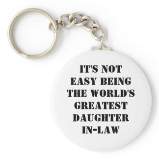 Daughter-In-Law Keychain