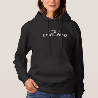 Distressed Manchester England Hoodie
