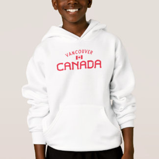 Distressed Vancouver Canada Boys' Hoodie