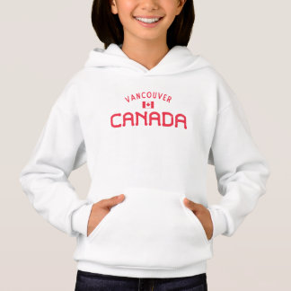 Distressed Vancouver Canada Girls' Hoodie